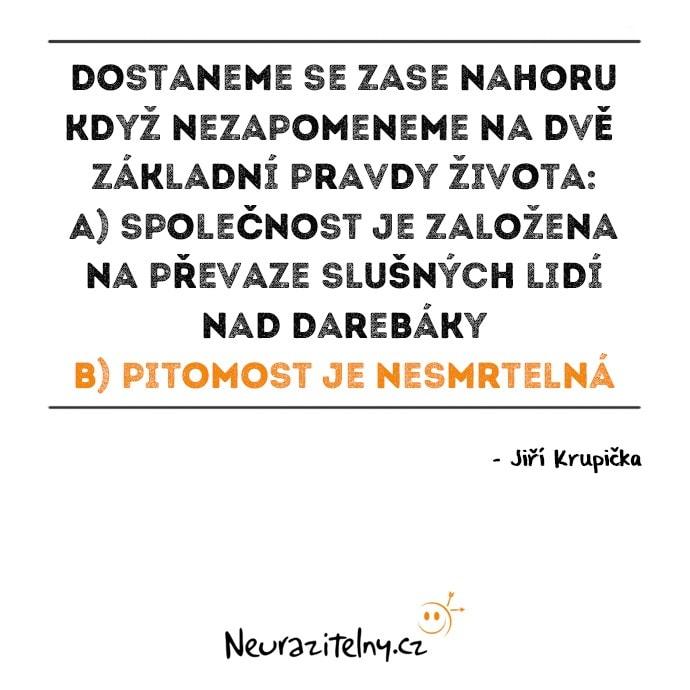 Vývoj českého myšlení - Jiří Krupička Citáty 3