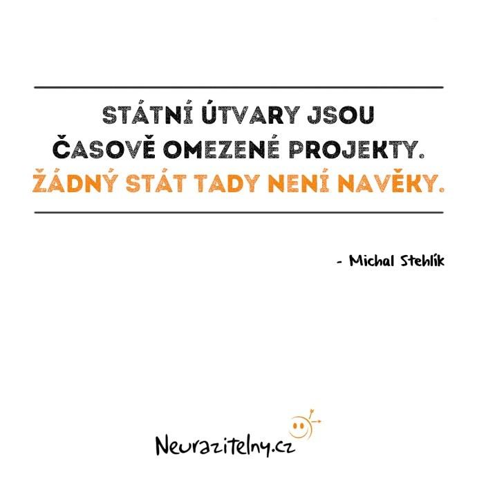 Vývoj českého myšlení - Michal Stehlík Citáty 1