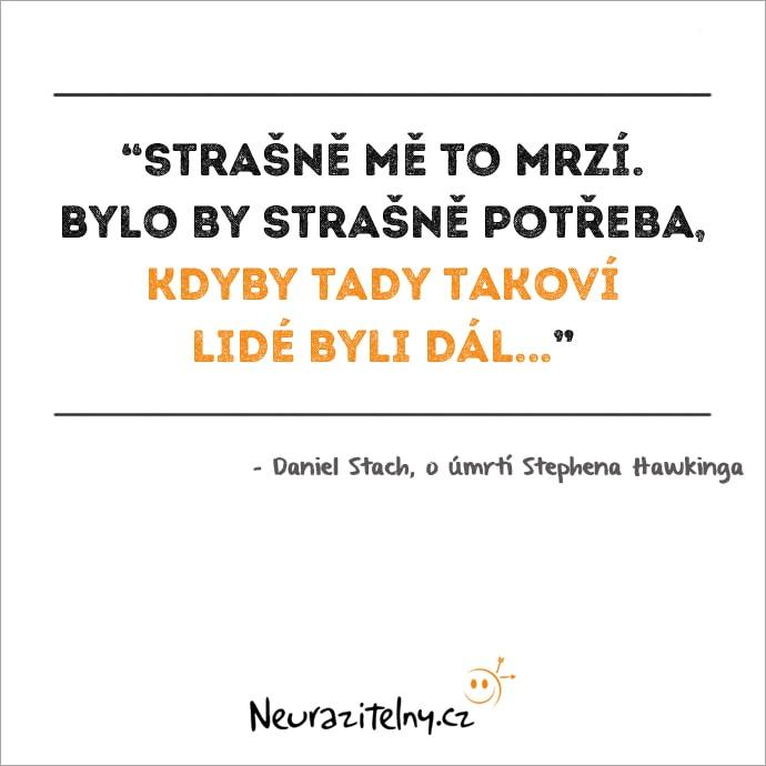Daniel Stach citát 2