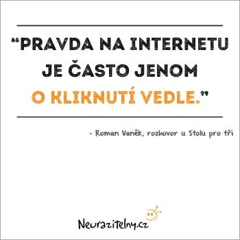 Roman Vaněk citáty 2