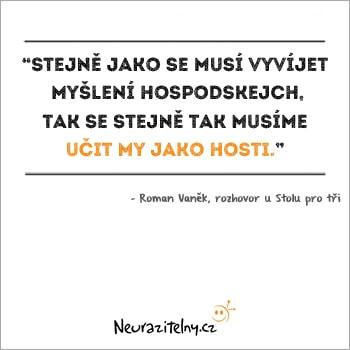 Roman Vaněk citáty 3