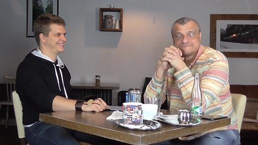 Rozhovor s Romanem Vankem u Stolu pro tri