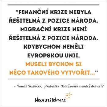 Tomáš Sedláček citáty 3
