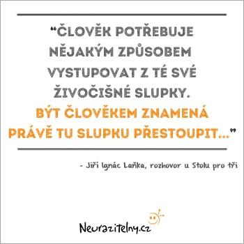 Jiří Ignác Laňka URNA citát 2