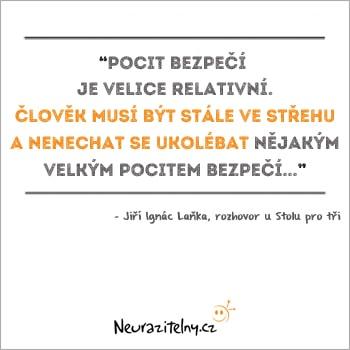 Jiří Ignác Laňka URNA citát 3