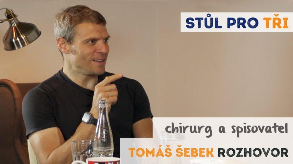 Tomáš Šebek rozhovor