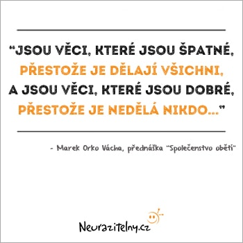 Marek Orko Vácha citáty 1