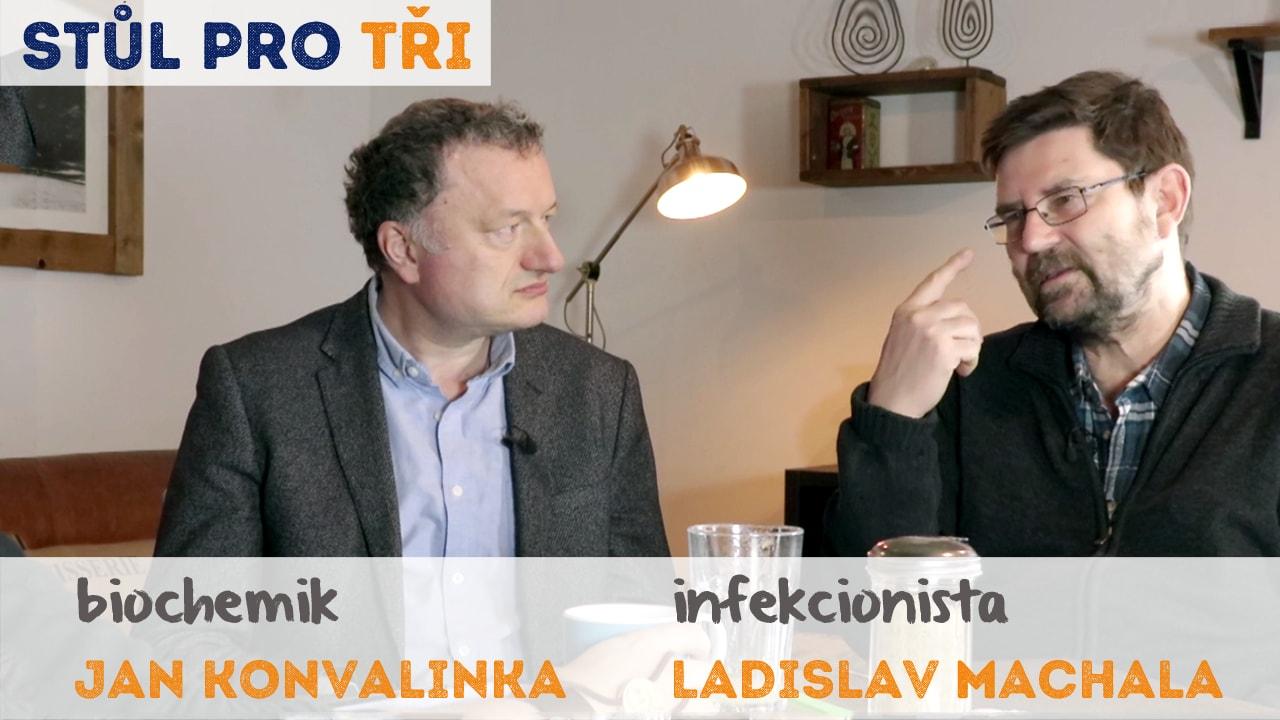 Očkování Jan Konvalinka Ladislav Machala rozhovor