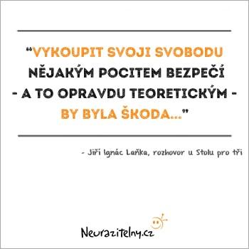 Jiří Ignác Laňka URNA citát 1