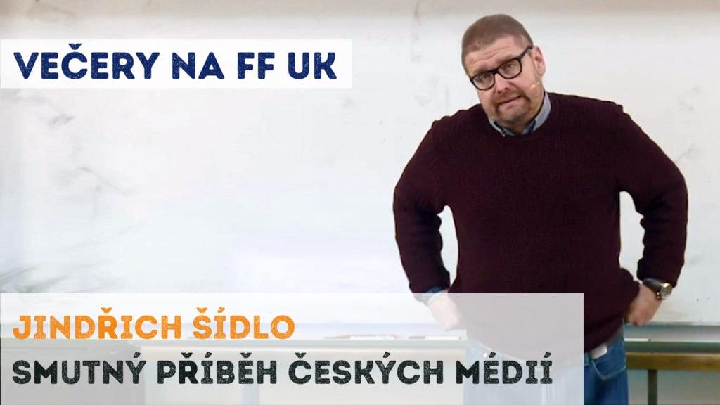 Jindřich Šídlo - Smutný příběh českých médií