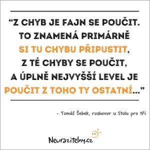 Tomáš Šebek rozhovor citáty 1