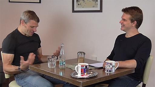 V rozhovoru s Tomášem Šebkem humorné situace rozhodně nechyběly