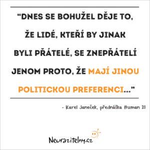 Karel Janeček citát 3
