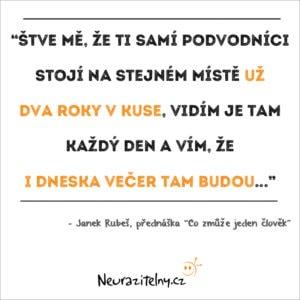 Janek Rubeš citáty 1