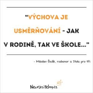 Miloslav Čedík citáty 1