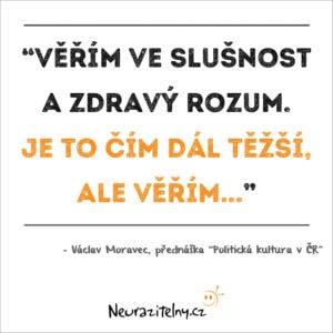 Václav Moravec citáty 1
