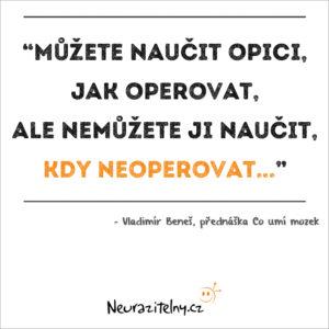 Vladimír Beneš citáty 2