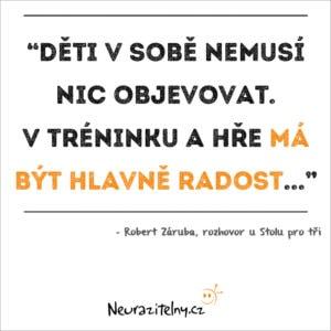 Robert Záruba rozhovor citáty 1