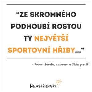 Robert Záruba rozhovor citáty 2