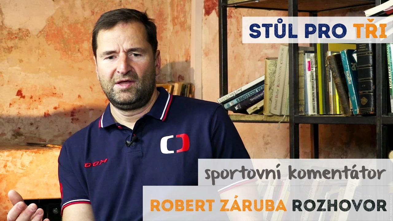 Robert Záruba rozhovor